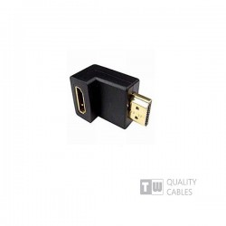 Adaptor HDMI Male To HDMI Female 270μοίρες
